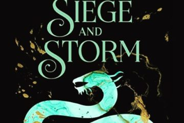 Sea dragon/whip on the cover of Siege and Storm