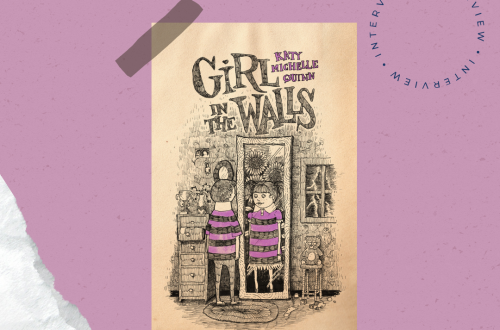 Front cover of Girl in the Walls on a mauve background